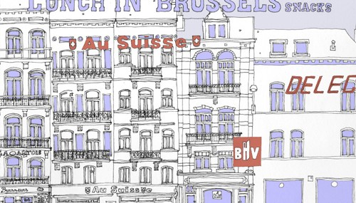 Snacks in Brussels – TDAT Map