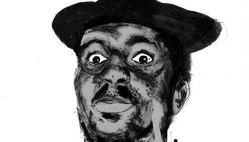 Thelonious Monk, a portrait
