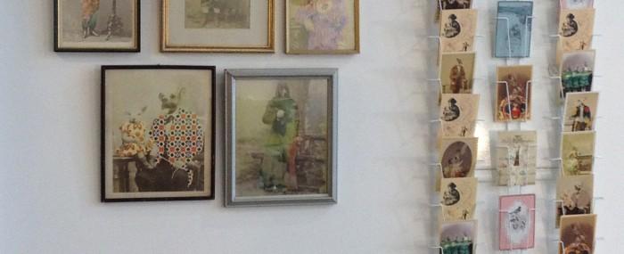 "Exhibition at ""Les petits poissons"""