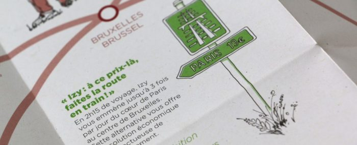 Thalys booklet illustrations