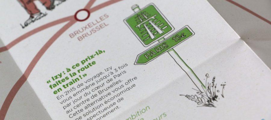 Thalys booklet illustrations